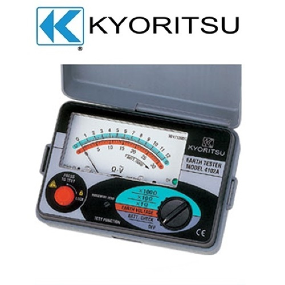 Kyoritsu Earth Tester 4102A-H