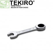 Tekiro Kunci Ring pas Ratchet Pendek 19 mm